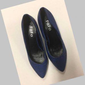 chaussures bleu