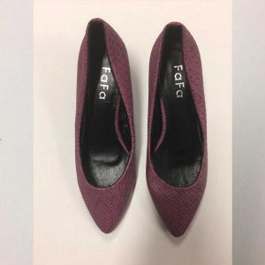 chaussures mauve