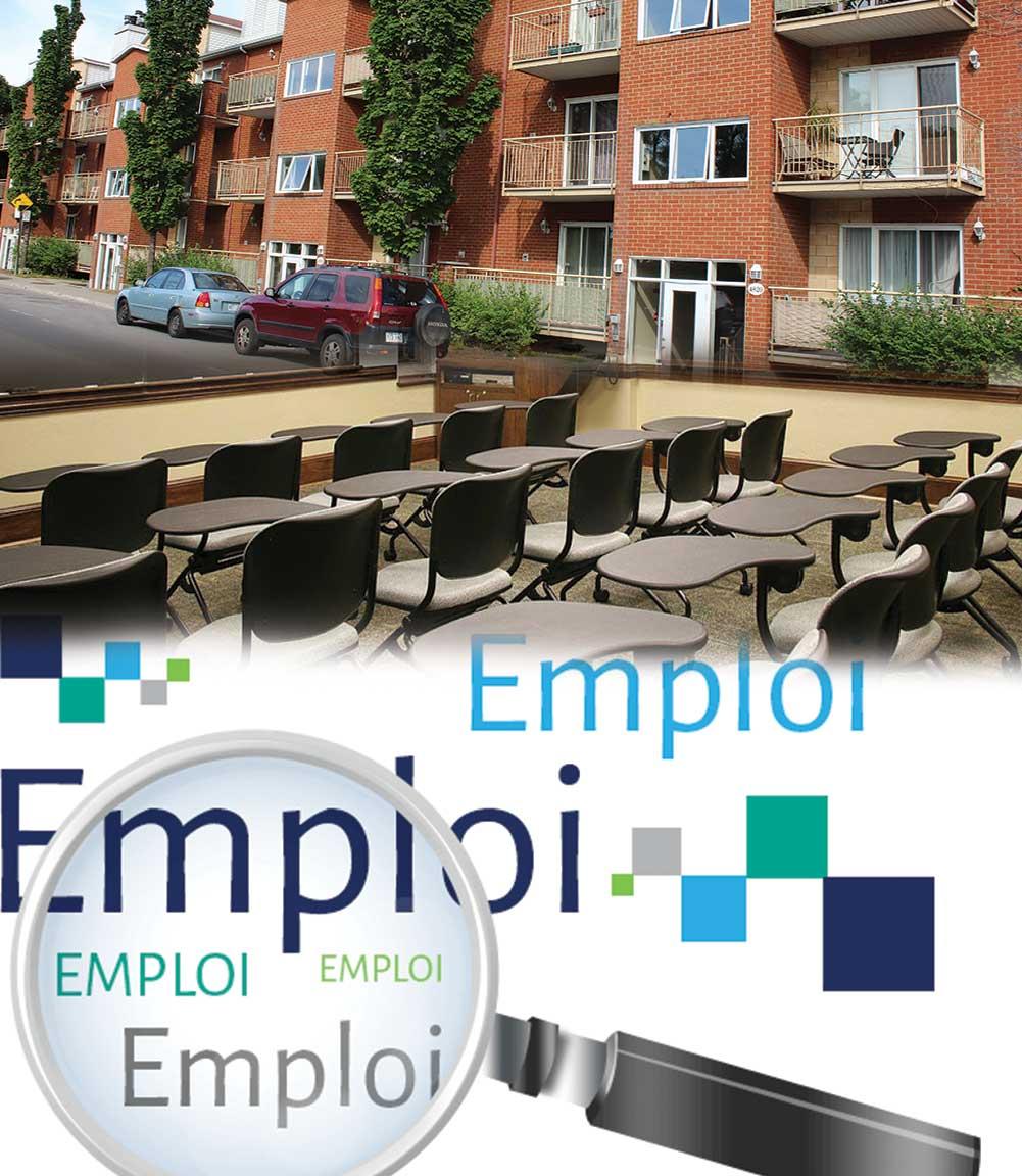 Aide à la recherche de logement, d'écoles francophones et d'emploi